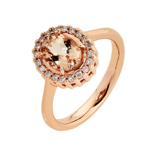 Oval Morganite Ring South Africa