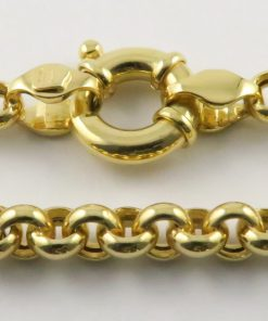 9ct Gold Belcher Chain South Africa