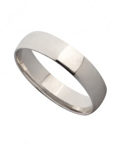 White Gold Mens Wedding Band South Africa