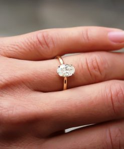 Oval Moissanite Ring South Africa