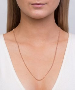 Rose Gold Chains and Necklaces