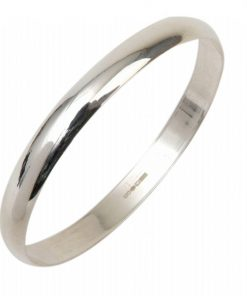 STERLING SILVER BANGLE 10MM X 65MM South Africa