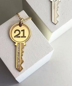 21st Birthday Key Necklace South Africa