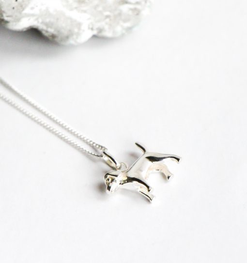 Sterling Silver Puppy Pendant South Africa