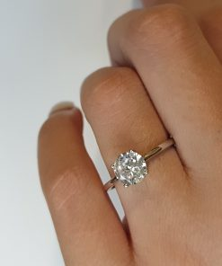Silver 1ct CZ Engagement Ring South Africa