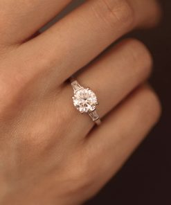 2ct Moissanite Engagement Ring South Africa